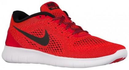 Nike Free RN Hommes chaussures de sport rouge/noir PFA814