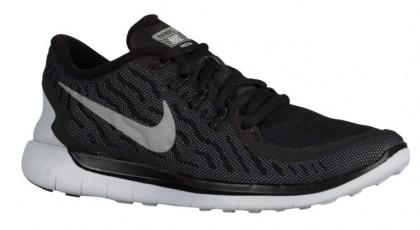 Nike Free 5.0 2015 Flash Femmes baskets noir/gris JES792