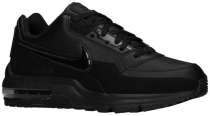 Nike Air Max LTD Hommes chaussures de sport Tout noir/noir XDX189