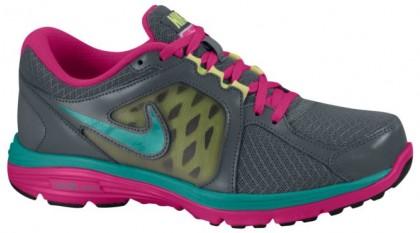 Nike Dual Fusion Run Femmes chaussures de sport gris/rose HJW607