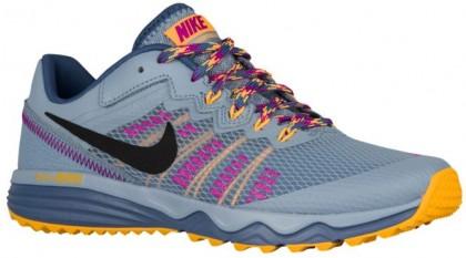 Nike Dual Fusion Trail 2 Femmes baskets gris/Orange QKO210