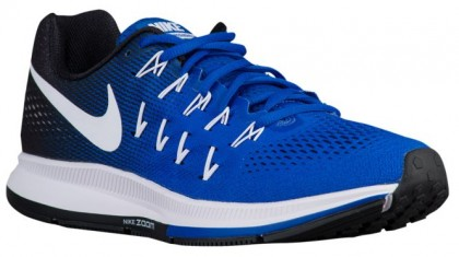 Nike Air Zoom Pegasus 33 Hommes chaussures bleu/blanc ODQ012