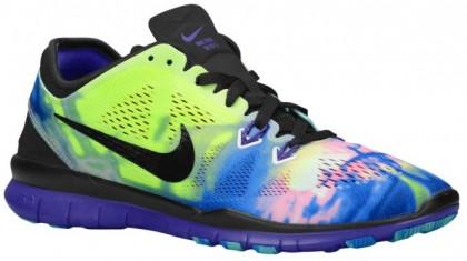 Nike Free 5.0 TR Fit 5 Femmes chaussures de sport noir/violet RRS254
