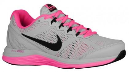Nike Dual Fusion Run 3 Femmes sneakers gris/rose XZW026