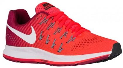 Nike Air Zoom Pegasus 33 Femmes chaussures Orange/brillantes rouges TSA154