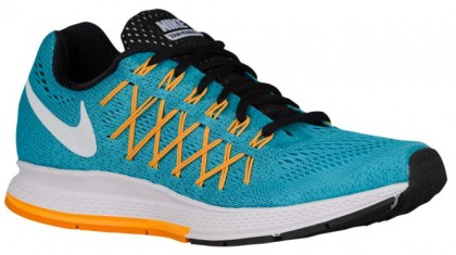 Nike Air Zoom Pegasus 32 Femmes baskets bleu clair/Orange XRD106