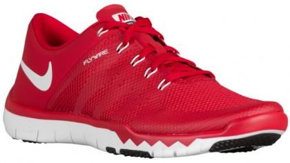 Nike Free Trainer 5.0 V6 Hommes chaussures de course rouge/blanc JUR132
