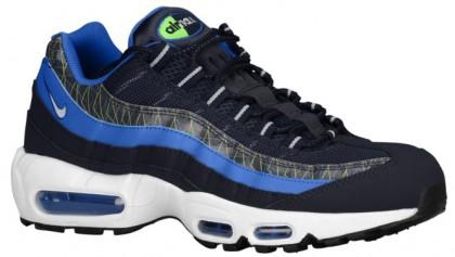 Nike Air Max 95 Hommes chaussures de sport bleu marin/bleu WEX301