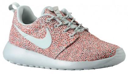 Nike Roshe One Print Femmes baskets Orange/gris HGC893