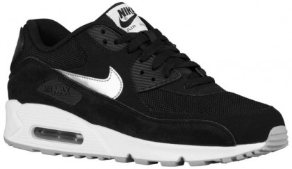 Nike Air Max 90 Essential Hommes chaussures de course noir/blanc WDE388