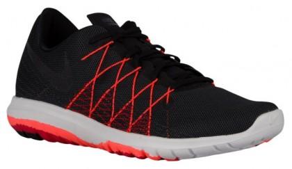Nike Flex Fury 2 Hommes chaussures noir/rouge KNN275