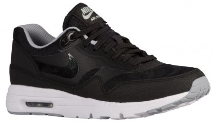 Nike Air Max 1 Ultra Essentials Femmes baskets noir/gris EGW146