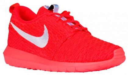 Nike Roshe One Flyknit NM Hommes chaussures Orange/blanc NTV905