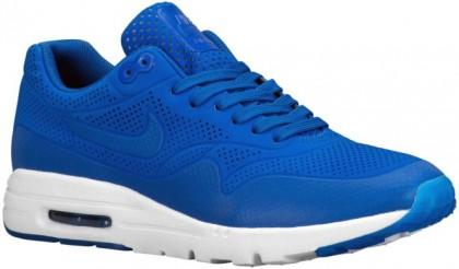 Nike Air Max 1 Ultra Moire Femmes chaussures bleu/blanc JKJ637