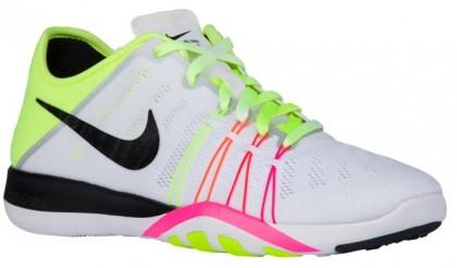 Nike Free TR 6 Femmes baskets blanc/vert clair KHW900