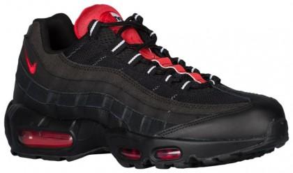 Nike Air Max 95 Essential Hommes sneakers noir/rouge MFX196