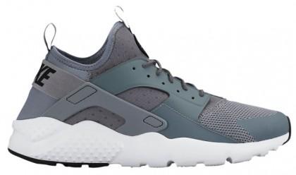 Nike Air Huarache Run Ultra Hommes sneakers gris/blanc QET053