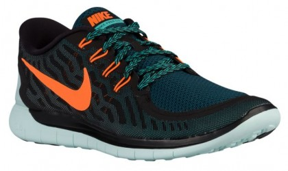 Nike Free 5.0 2015 Hommes sneakers noir/Orange FON573