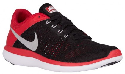 Nike Flex RN 2016 Hommes chaussures noir/rouge GQG056