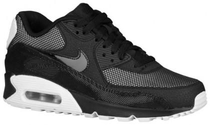 Nike Air Max 90 Femmes chaussures de sport noir/argenté IET810