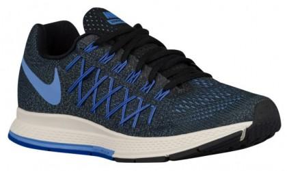 Nike Air Zoom Pegasus 32 Femmes chaussures de sport noir/bleu clair FSV237