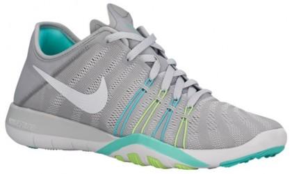 Nike Free TR 6 Femmes chaussures de sport gris/vert clair FNH782