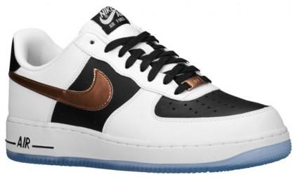 Nike Air Force 1 Low Hommes sneakers blanc/marron HMM423
