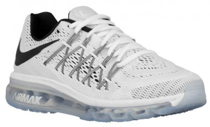 Nike Air Max 2015 Femmes chaussures de course blanc/noir EXA137