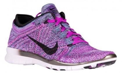 Nike Free TR 5 Flyknit Femmes sneakers violet/noir BHF201