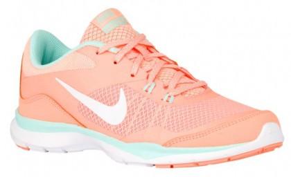 Nike Flex Trainer 5 Femmes baskets Orange/vert clair IKE234
