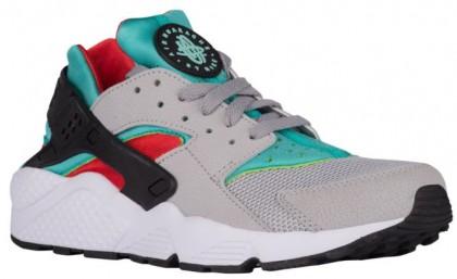 Nike Air Huarache Hommes sneakers gris/vert clair JFS417