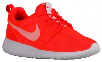 Nike Roshe One Femmes chaussures Orange/blanc TUR992