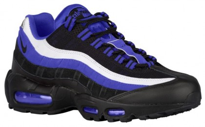 Nike Air Max 95 Essential Hommes baskets noir/violet QFJ773