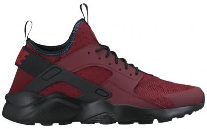 Nike Air Huarache Run Ultra Hommes sneakers rouge/noir MEK916