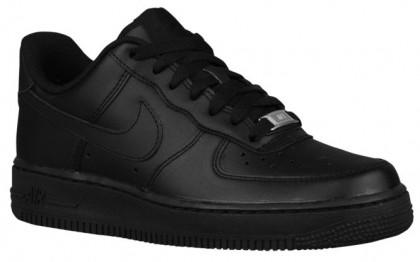 Nike Air Force 1 07 LE Low Femmes chaussures Tout noir/noir UFD580