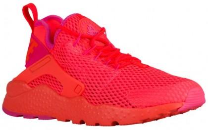 Nike Air Huarache Run Ultra Femmes baskets Orange/rose VFO414