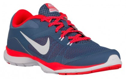Nike Flex Trainer 5 Femmes baskets bleu marin/rouge TON118
