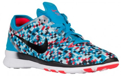Nike Free 5.0 TR Fit 5 Femmes sneakers bleu clair/noir KFI475