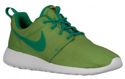Nike Roshe One Premium Hommes chaussures vert clair/vert LDL237