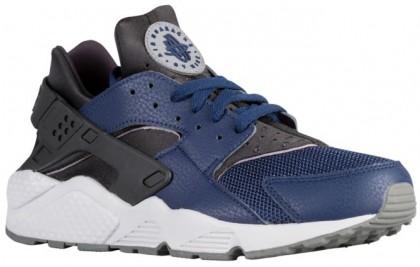 Nike Air Huarache Hommes chaussures de course bleu marin/gris CZB671