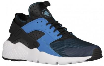 Nike Air Huarache Run Ultra Hommes chaussures de course bleu clair/noir DHD850