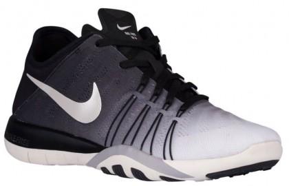Nike Free TR 6 Spectrum Femmes chaussures de course noir/gris QGV418