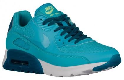 Nike Air Max 90 Ultra Femmes baskets bleu clair/bleu marin DAD482