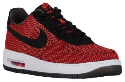 Nike Air Force 1 Low Hommes chaussures Orange/noir OPF190