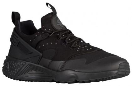 Nike Air Huarache Utility Hommes chaussures de sport Tout noir/noir YTZ244