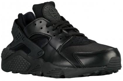 Nike Air Huarache Femmes sneakers Tout noir/noir ELC868