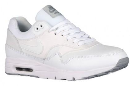 Nike Air Max 1 Ultra Essentials Femmes chaussures de sport blanc/gris IYZ113