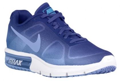 Nike Air Max Sequent Femmes sneakers bleu/bleu clair WKI736