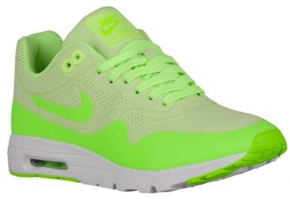 Nike Air Max 1 Ultra Moire Femmes baskets vert clair/blanc KWH815