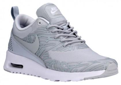 Nike Air Max Thea Femmes chaussures de course gris/blanc FLO319